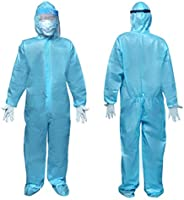 F Gear CE ISO Lab Tested PPE KIT (with Full Body Coverall, Gloves, Shoe Cover, Face Mask & Face Shield) st