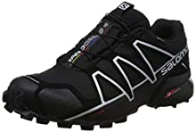 SALOMON Speedcross 4 GTX, Scarpe da Trail Running Uomo, Nero (Black/Black/Silver Metallic-X), 44 2/3 EU
