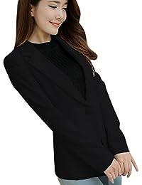 EFINNY Women Office Work Blazer Jacket Business OL Long Sleeve Outwear Coat(Shipped From USA!!!)