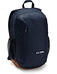 Under Armour UA Roland Backpack Mochila, Unisex Adulto, Azul (Academy/Sienna Brown/White 408), Talla única