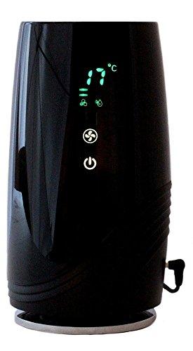 Luftreiniger Ionisator B-D01, HEPA-/Aktivkohlefilter, Ionengenerator, Temperatur und Luftfeuchte Anzeige