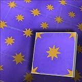 1 m² bunte Fliesen Zementfliesen Motiv Stern 161_01 lila gelb