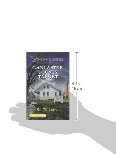Lancaster County Target (Love Inspired Suspense (Large Print))
