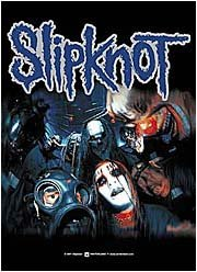 Slipknot gruppo Mayhem Textile Poster
