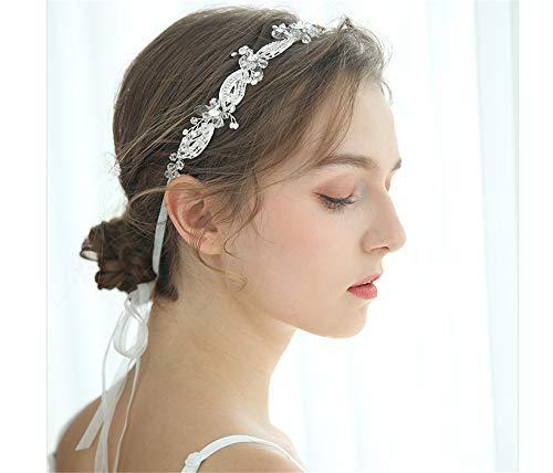 Hochzeit Sweet Romantic Hochzeit Diadem Haarband Handarbeit Kopfschmuck Legierung Diamant Silber Haarband ()