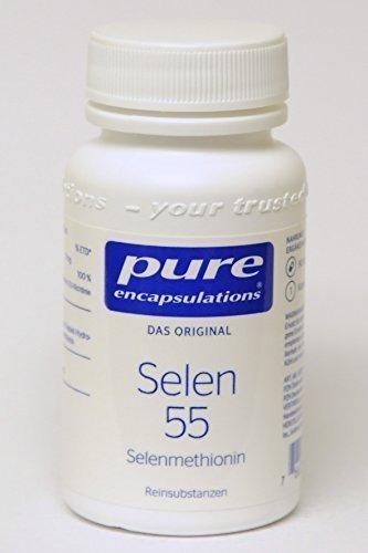 PURE ENCAPSULATIONS Selen 55 Selenmethionin Kaps. 90 St