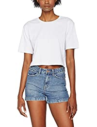 Urban Classics Damen T-Shirt Ladies Short Oversized Tee