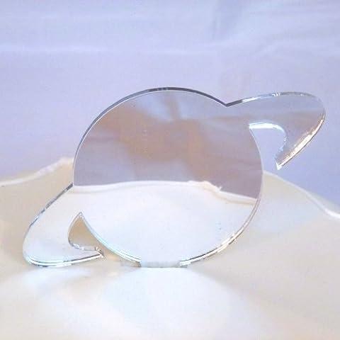 Saturn torta specchio