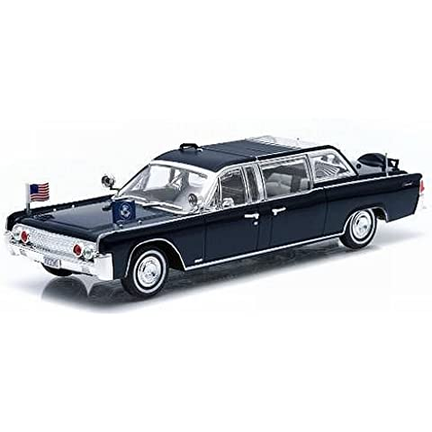 Lincoln continental SS-100-X, nero, John F. Kennedy,