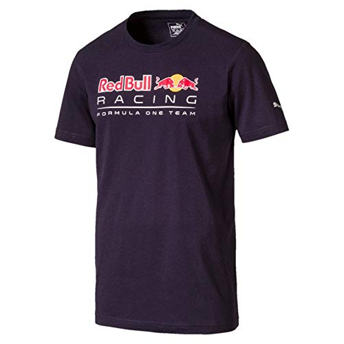 Puma Herren RBR Logo T Shirt, Night Sky, XXL -