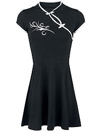 Fashion Victim Tribal Dress Kleid schwarz