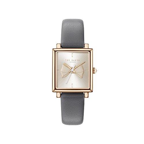 Ted Baker Reloj Analógico para Mujer de Cuarzo con Correa en Cuero TE50516002