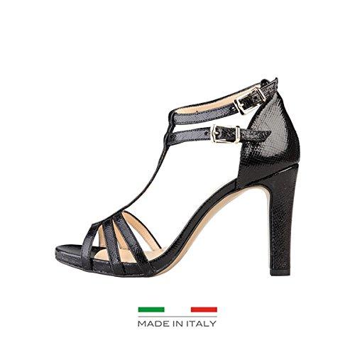 Versace Donna OLYMPE sandali Nero Size: 37