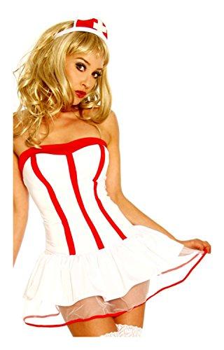 Krankenschwester-Kostüm von luxury & good Dessous XS-L