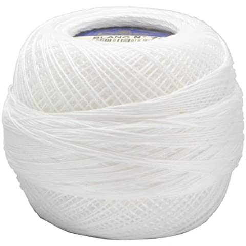 DMC Cordonnet coton taille 70 361 mètres-blanc