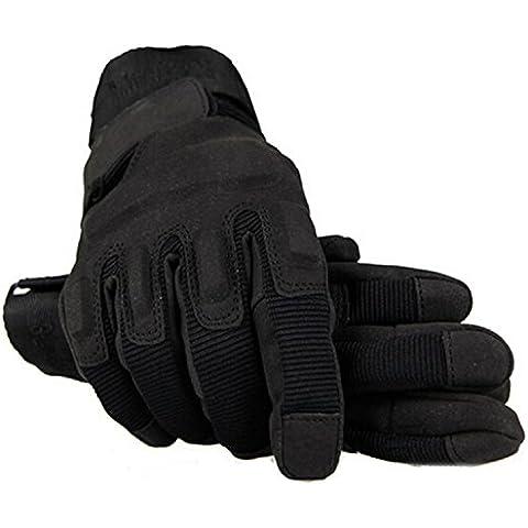 Guida mano tattico guanti nero prodotto esterni Airsoft Caccia ciclismo moto - Guida Esterno