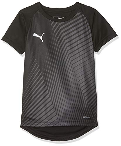 PUMA Kinder ftblNXT Graphic Shirt Core Jr T Black-Red Blast, 140 - Blast Bekleidung
