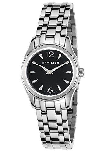Hamilton-H32261137-Reloj-de-pulsera-mujer-acero-inoxidable-color-plateado