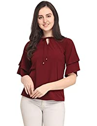 J B Fashion Women's Plain Regular Fit Top