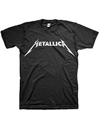 RGM843 Metallica Logo Black T-shirt Size: MEDIUM