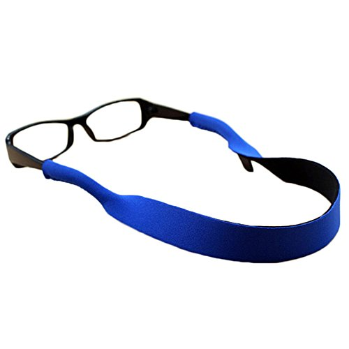 Merssavo Blau 2x Brille Strap Hals Schnur Sport Brillen String Sonnenbrille Seil Band Halter