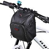 Rhinowalk Fahrrad lenkertasche, 3L Wasserfeste Tasche für Den Fahrradlenker, Satteltasche für Fahrräder, Mountainbikes Oder Roller, mit Regenschutz