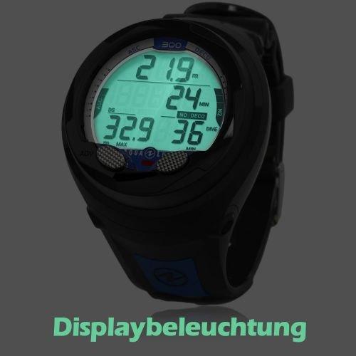 Aqualung i300 Tauchcomputer schwarz/blau - 3