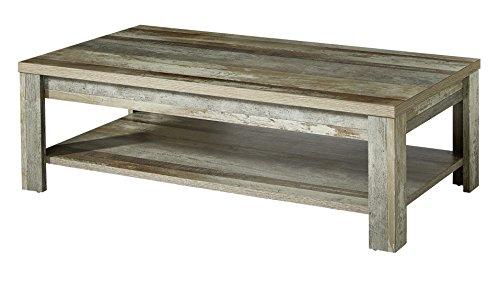 Stella Trading Bonanza Couchtisch, Holz, braun, (B/H/T) 130 x 40 x 65 cm