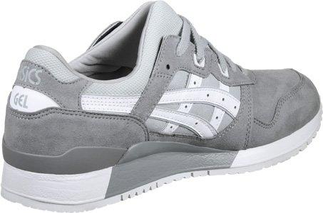 Asics Gel-Lyte Iii, Chaussures de Tennis Homme Gris (Aluminum/white)