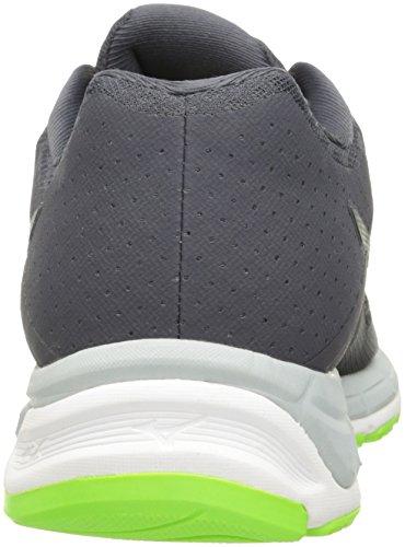 Mizuno Synchro MX Maschenweite Laufschuh Grey/Grey/Green