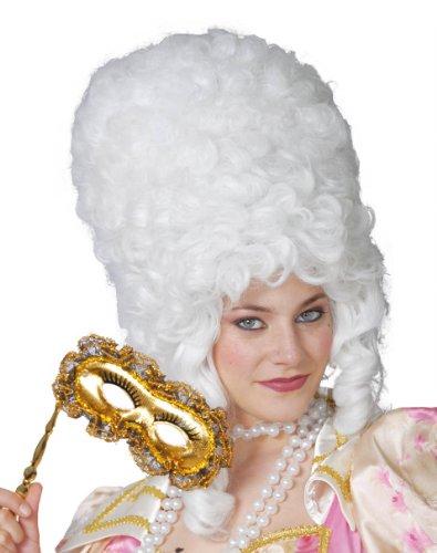 Guirca Französische Revolution Perücke, groß, Weiß
