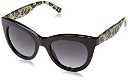 Tommy Hilfiger Womens Th1480os Rectangular Sunglasses, Bkgd Leop, 51 mm