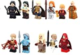 Modbrix 11 Stück Game of Thrones Minifiguren