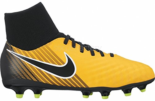 Nike Jr Magista Onda Ii Df Fg, Chaussures de Football Mixte Enfant LASER ORANGE/BLACK-WHITE-VOLT