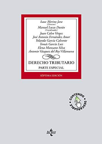Derecho tributario: Parte especial. (Derecho - Biblioteca Universitaria De Editorial Tecnos)