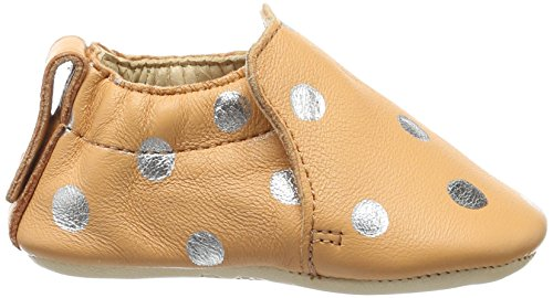 Easy Peasy - Blumoo Pois, Scarpine e pantofole primi passi Unisex – Bimbi 0-24 Orange (peche/silver)