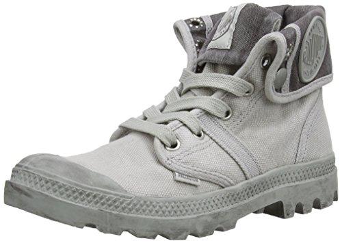 Palladium Pallabrouse Baggy Damen Desert Boots Grau (vapor/metal 095)