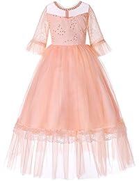 ed0be8851fe7c Vestido Fiesta Niña Las Muchachas Vestido Del Vestido Del Cumpleaños Del  Baile De Fin De Curso