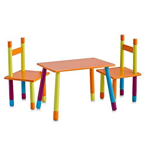 OFFERTA SPECIALE - Set di sedie e tavolo per bambini in MDF - OFFERTA SPECIALE!!!