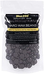 BlueZoo Depilatory Hard Wax Beans - 100 gms - Chocolate
