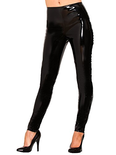 PVC Leggings - Schwarz - UK 18 | US 14 | EU 46 (XL)