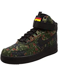NIKE AIR FORCE 1 High Lv8 Gs Braun High Top Sneaker Damen Turnschuhe 807617 701