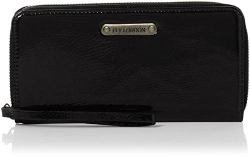 Fly London Viny607fly, Porte-monnaie femme, Black, 2x10x20 cm (W x H L)