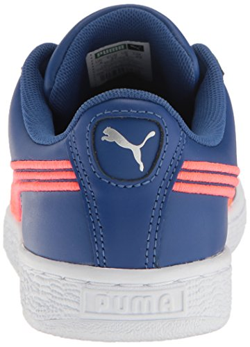 Puma Suede Classic Badge Daim Baskets True Blue-Bright Plasma