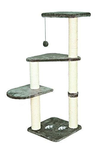 Produktabbildung von Trixie 43882 Altea Kratzbaum, 117 cm, platingrau