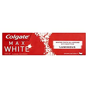 Colgate Zahncreme Max White one Louminous 75ml, für weissere Zähne, hellt die Zähne auf