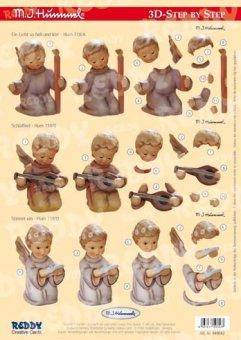 Reddycards 3D Stanzbogen M.I. Hummel Nr.42