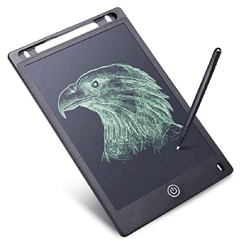 E-Venture 8.5 Inch LCD Writing Board Slate Drawing Record Notes Handwriting Pad Paperless Graphic Tablet with Stylus Pen for Kids
