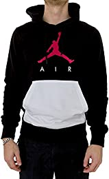 Sudadera capucha Jordan – Sportswear Jumpman Air Lightweight  negro/blanco/rojo talla: XS