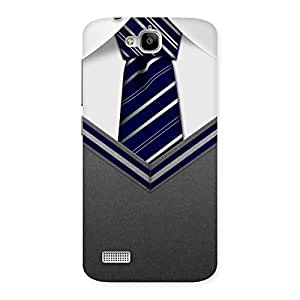 Impressive Decent Student Grey Back Case Cover for Honor Holly
